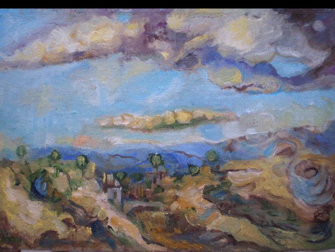Malerei, 2013, Landschaft