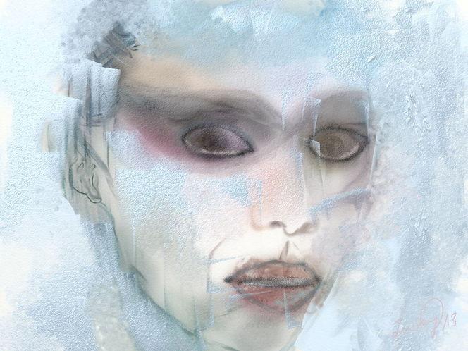 Eiskalte, Angst, Malerei