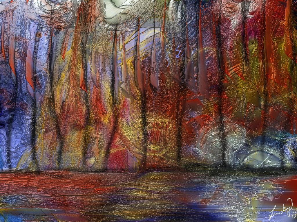 Kunstnet werke fastnacht der bäume