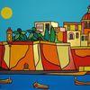 Malta, Meer, Boot, Senglea