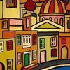 Meer, Malta, Dorf, Malerei