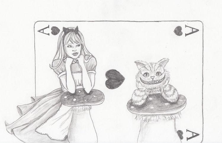 Zeichnungen, Wunderland