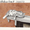 Inktober, Katze, Erschöpft, Illustrationen