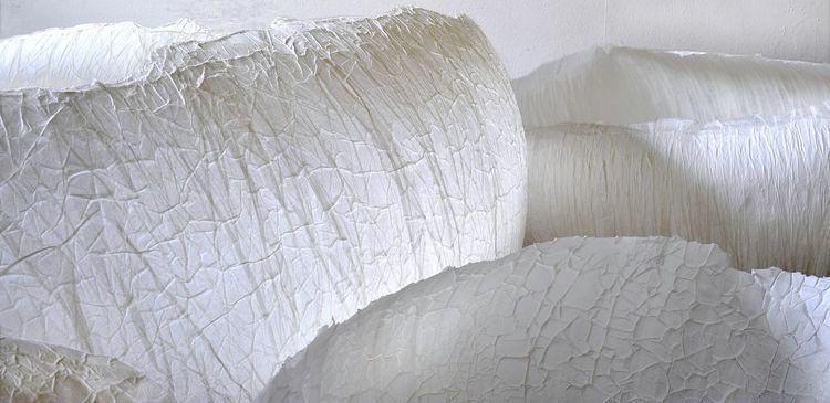 Interaktive rauminstallation, Hülle, Plastik,