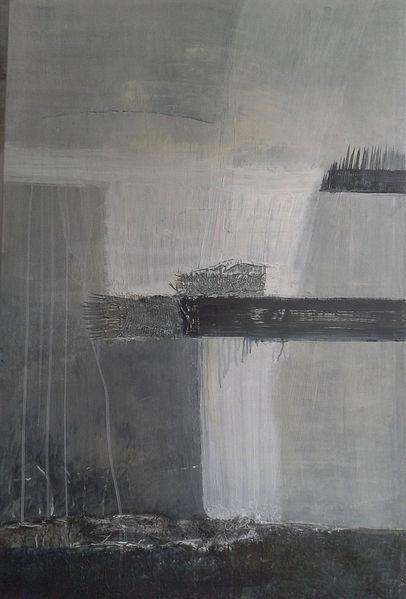Schichten übereinander, Verlaufende farben, 2013, Malerei,