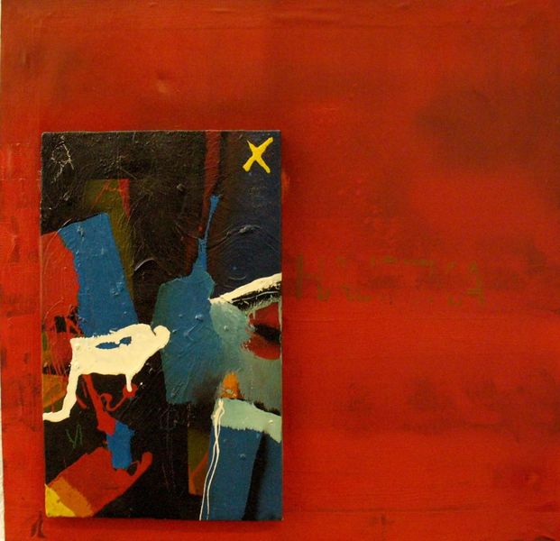 Abstrakt, Acrylmalerei, Ölmalerei, Malerei, Duo,