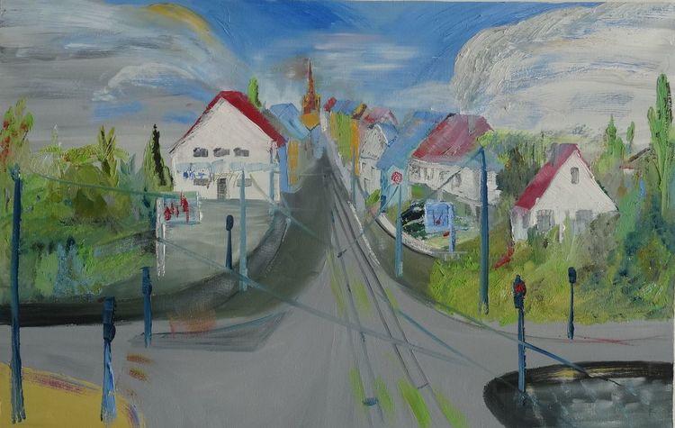 Bonn, Straßenkreuzung, Beuel, Morgenstimmung, Ortseingang, Stadtlandschaft