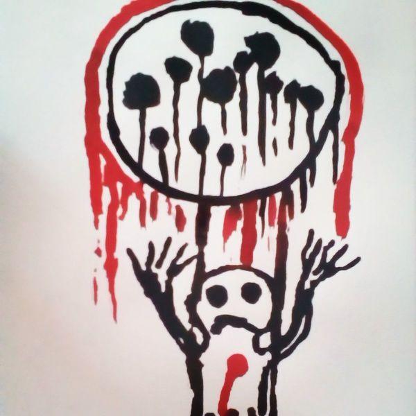 Herz, Schmerz, Menschen, Malerei