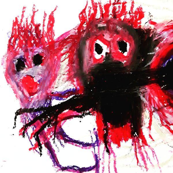 Artbrut, Outsider art, Psychiatrie, Malerei, Glance