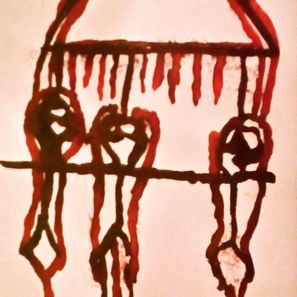 Blut, Schmerz, Menschen, Malerei