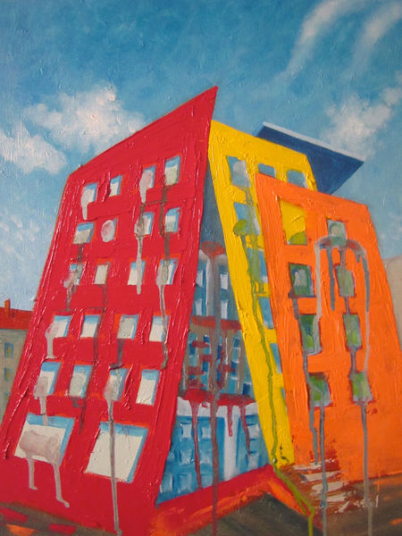 Malerei, Haus