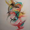 Pastellmalerei, Farben, Abstrakt, Bunt