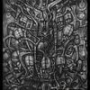 Surreal, Giger, Bleistiftzeichnung, Böse