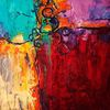 Kratzen, Komplementär, Experimentell, Abstrakt