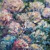 Hortensien, Herbst, Blumen, Garten
