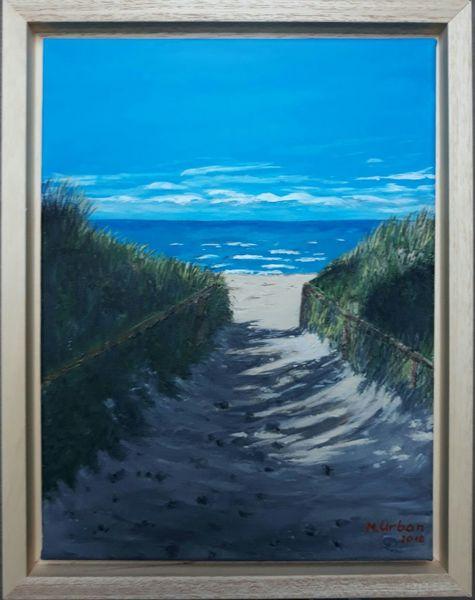 Ostsee, Wasser, Strand, Malerei, Rügen