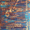 Gitarre, Schrift, Acrylmalerei, Malerei