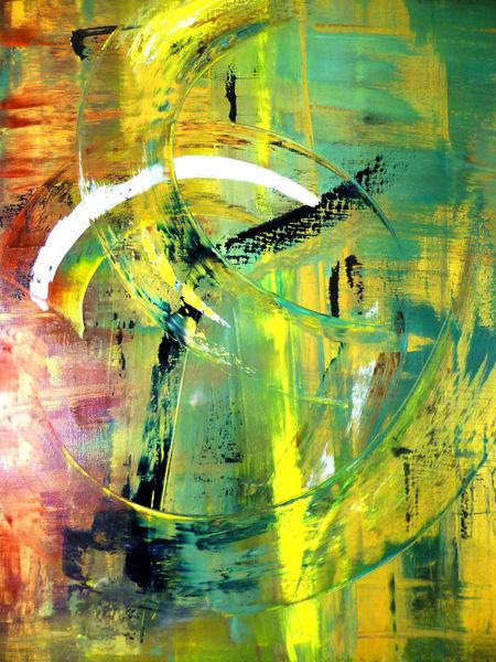 Bewegung, Energie, Abstrakt, Dynamik, Malerei,