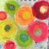 Garten, Abstrakt, Orange, Flur