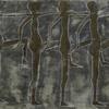 Tänzer, Figurismus, Farben, Relief