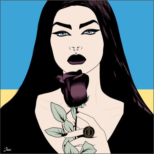 Ehre, Leben, Rose, Illustrationen
