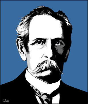 Carl benz, Illustration, Illustrationen,