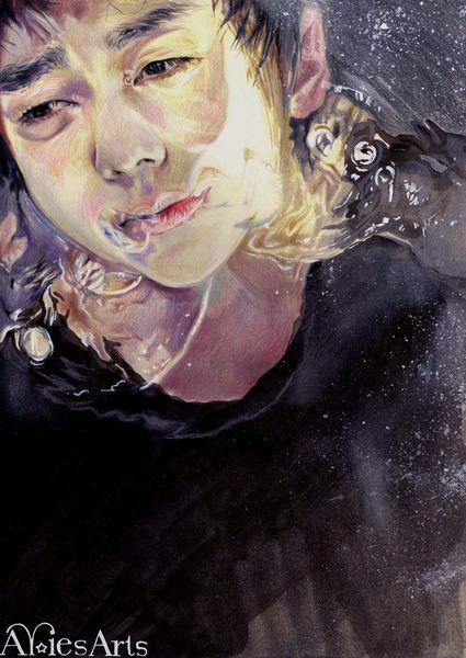 Wasser, Zeichnungen, Erlösung
