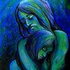Gesicht, Ausdruck, Blau, Menschen