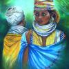 Acrylmalerei, Tradition, Grazyna federico, Menschen