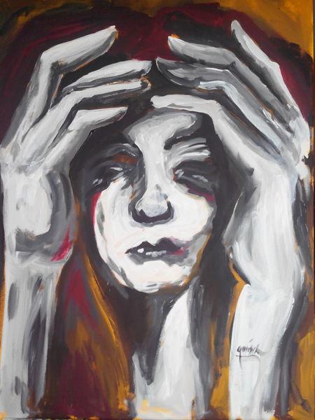Malerei, Trauer