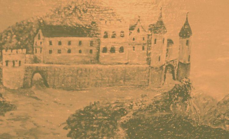 Geschichte, Malerei, Burg