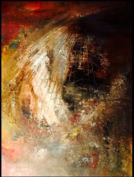 Malerei, Struktur, Struktupaste, Fantasie, Acrylmalerei, Surreal