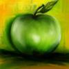 Apfel, Fantasie, Digitale kunst