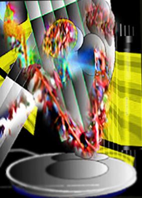 Farben, Zeitgenössisch, Mixed, Computer, Abstrakt, Digitale kunst
