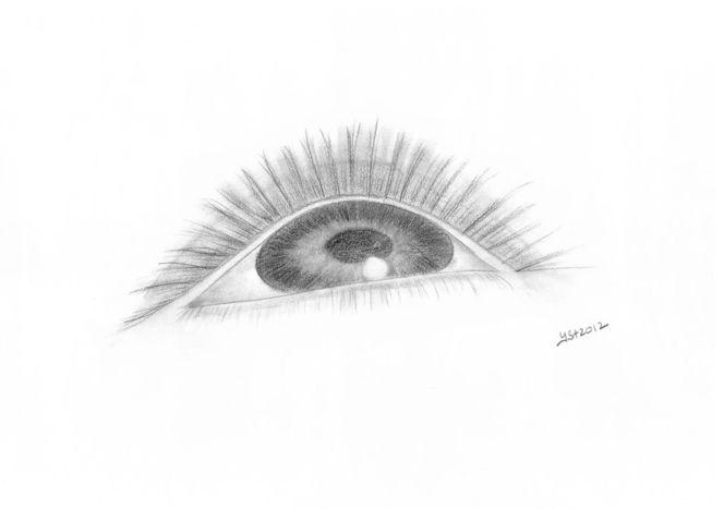 Augen, Blick, Zeichnungen,