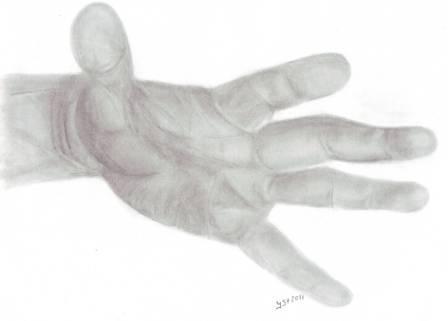 Hände, Angst, Gefühl, Zeichnungen,