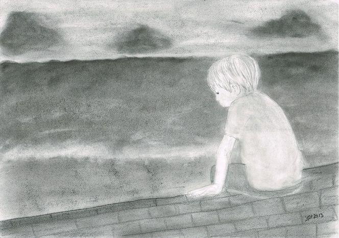 Gefühl, Menschen, Grafit, Charakter, Zeichnung, Zeichnungen
