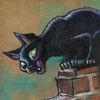 Mauer, Katze, Ratte, Zeichnungen