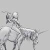 Einhorn, Pferdeäpfel, Fee, Eule