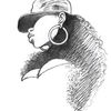 Hut, Gesicht, Schatten, Zeichnungen