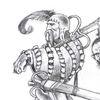Söldner, Soldat, Zeichnung, Zeichnungen