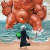 Usa, Iran, Krieg, Illustrationen
