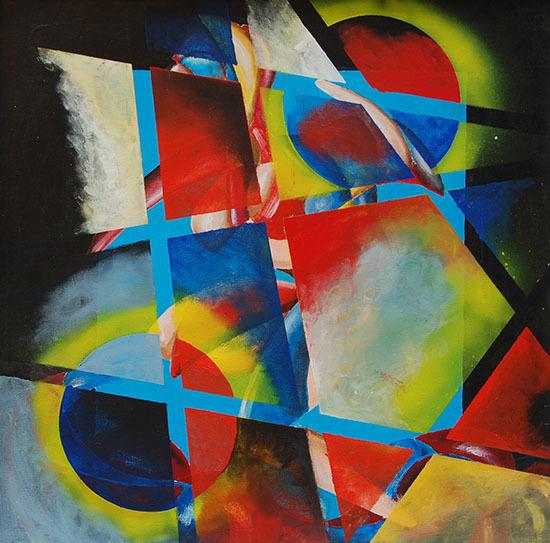 Kreis, Vielecke, Wunschvorstellung, Malerei