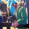 Malerei, Menschen, Mann, Herbst