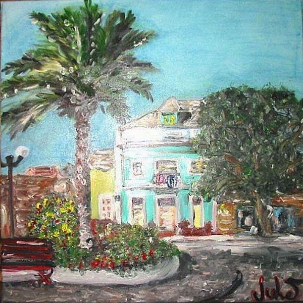 Urlaub, Licht, Kuba, Palmen, Sonne, Himmel