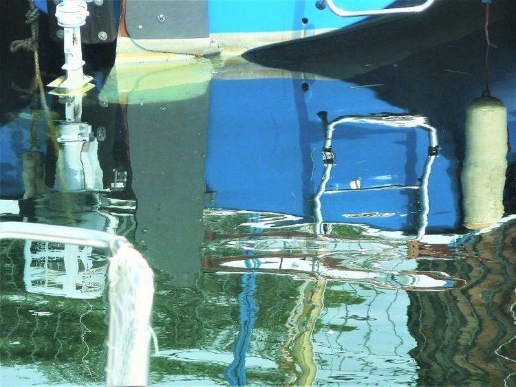Hafen, Maderno, Wasser, Gardasee, Spiegelung, Fotografie