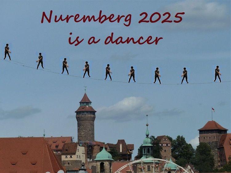 Kulturhauptstadt, Bewerbung, Botschaft, Tänz, Nürnberg 2025, Fotografie