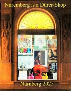 Einkaufen, Bewerbung, Kulturhauptstadt, Botschaft, Nürnberg 2025, Dürer