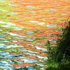 Farben, Bootshaus, Wasser, Spiegelung