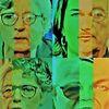 Menschen, Portrait, Koalition, Mann